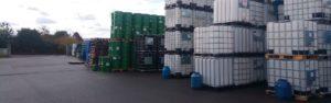 Stock de fûts et de Cuves disponibles chez Containers Service