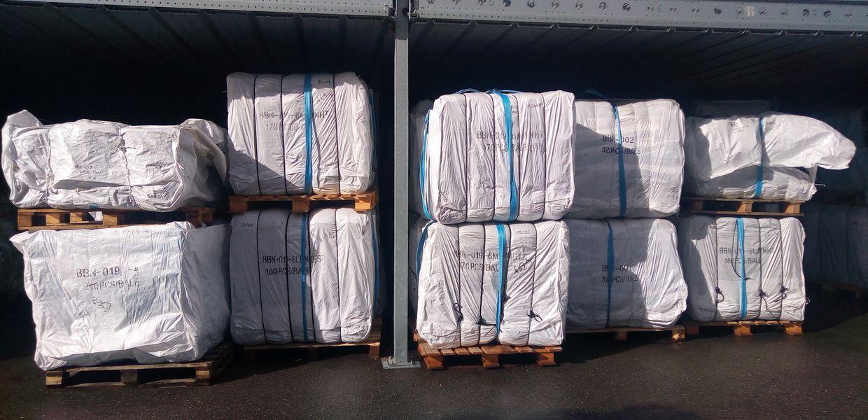 Stock de Big Bags neufs disponibles chez Containers Service