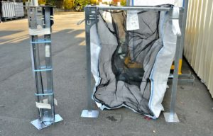 Big Bag bois de chauffage et son support ECO SELECT