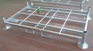 Manurack double galvanises - avec guides fourches