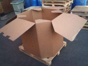 Cartons Octabins irréguliers