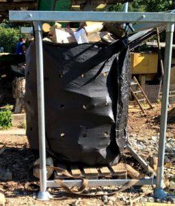 Big Bag bois de chauffage OPTIFOREST