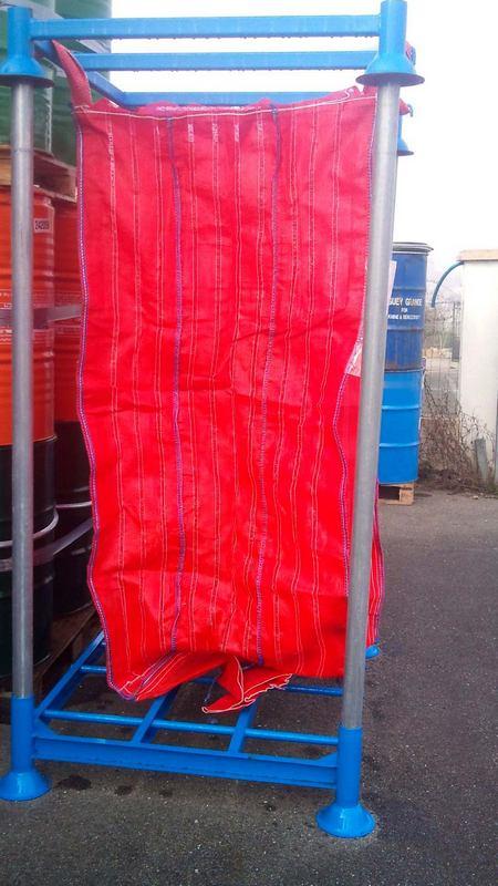 Big Bag de réemploi ventilé et son support