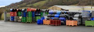 Stock de fûts/bidons dispo chez Containers Service