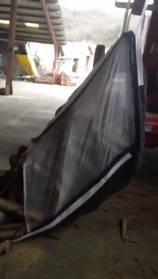 Démonstration d'utilisation d'un Big Bag bois de chauffage renversable