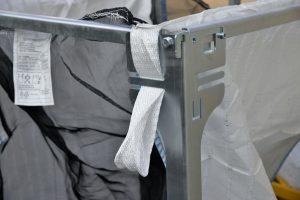 Fixation d'un Big Bag sur le support ECO SELECT